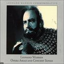 Leonard Warren: Opera Arias & Concert Songs