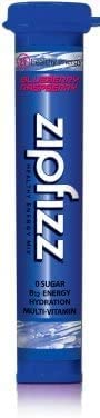 Zipfizz Healthy Energy Drink Mix, Limited Edition Blueberry Raspberry, 11g Single serving tubes – 30 Count