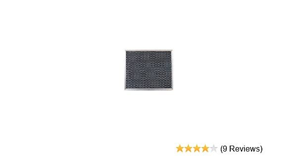 2 Pack of x 10-1-2 in x 3-8 in Filters-NOW GRCP0806=GBR Broan Carbon Range Hood Filters 8-3-4 in