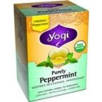 Yogi Purely Peppermint Tea 16BAGS NET WT 0.85OZ (24G)