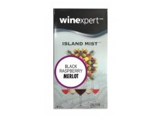 Island Mist Black Raspberry Merlot 7.5 Liter Wine Making Kit