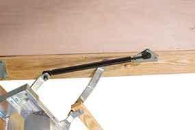 Attic: Cool Attic Access Door Lowes For Stunning Home ... |Door Attic Ladder Parts
