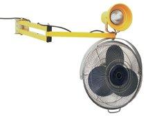 Wesco Industrial Products 272340 Heavy Duty Steel Dock Light and Fan, 40'' Arm by Wesco
