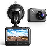 Siroflo DVR Dash Cam, Dashboard Camera with Night Vision, Sony Sensor, 170 degree Wide Angle HD Video Recorder Built In G-Sensor Motion Detection Loop Recorder