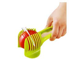Laytek Tomato Slicer, Multi-functional Handheld Tomato Round Slicer, Fruit Vegetable Cutter, Lemon Shredders Slicer, With the Special Hook by Laytek (Image #3)