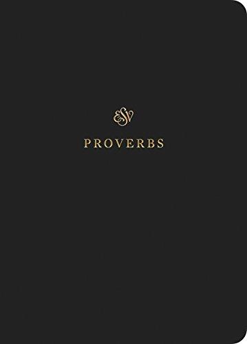 Proverbs Scripture Journal: English Standard -