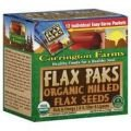 Carrington Farms Flax Milled 12pkt Org