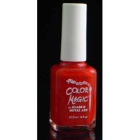 Color Magic Glass and Metal Paint - Red Poppy Opaque
