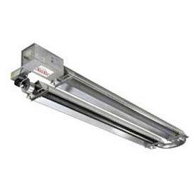 (SunStar Natural Gas Heater Infrared Vacuum U-Tube, 125000 BTU 30L)