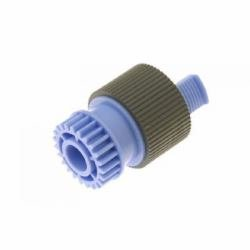 HP RF5-3340-000CN Paper pick-up and feed roller assembly - Rubber roller with drive gear