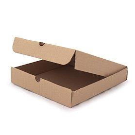 10 x 10 marrón cajas de PIZZA, 100 unidades)