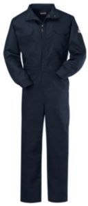 Flame Resistant Coverall, Navy Blue, Nomex(R), XL ()