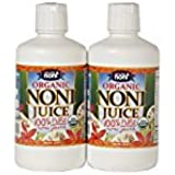 Certified Organic Hawaiian Noni Juice - 2 X 32 Ounce