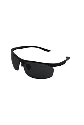 unique Black Homme taille In Black de soleil Finecy Lunettes Frame Lens with HIxwYfqX0