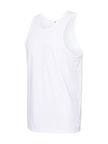 Alstyle Apparel AAA Men's Ultimate Lightweight Ringspun T-Shirt, White, XX-Large from Alstyle Apparel