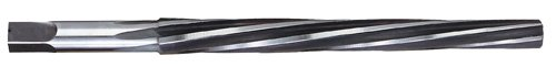 Titan TR97572 High Speed Steel Taper Pin Reamer, Left Hand Spiral, Right Hand Cut, 2'', 0.1137'' Small Diameter, 0.1462'' Large Diameter, 5/32'' Shank Diameter, 2-5/16'' Overall Length by Titan