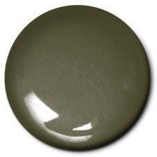 Testors 2026 Dark Drab Semi-Gloss 0.5 oz Paint Bottle