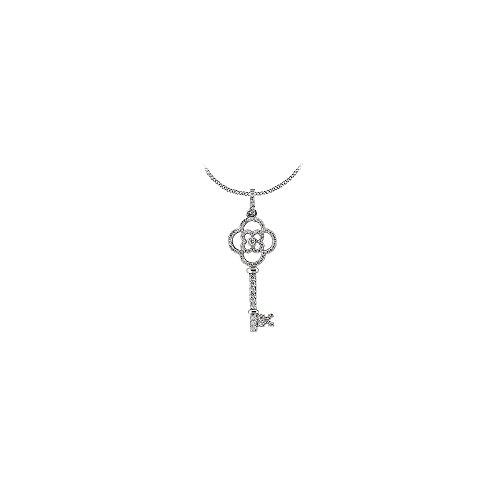 nt Key Diamond Necklace of Half a Carat Diamonds ()