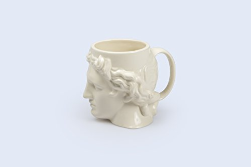 Make Greek God - Hestia Greek God Greco-Roman Ceramic Tea Novelty Coffee Mug (White)