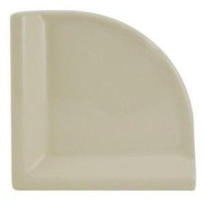 Corner Shower Shelf Wall Accessory Almond 8-1/4