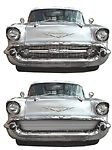 Chassis Tech BIL-CH-66 Grille 1957-1957 Chev Belair Phantom/Center Bar (1957 Grille)
