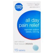 2 pack all Day Pain Relief Naproxen 220 mg 15 tabs