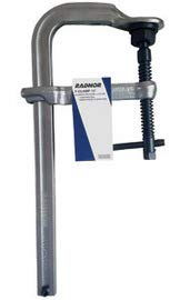 Radnor 12'' Metal Heavy Duty Floor Clamp with Tempered Rail and Drop-Forged Sliding Arm by Radnor Safety
