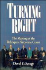 Turning Right, David G. Savage, 0471536601