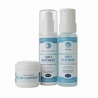 Aqua Glycolic 3 Piece Facial Pack, 1 set