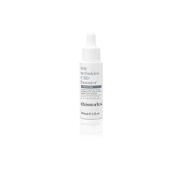 This works my wrinkles CBD booster + granctive retinoid 30ml