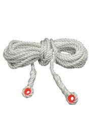 Elk River 49804 Construction Plus Lifeline Rope with Thimble Eye Connector, 5/8