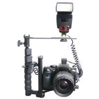 RPS RS0420C3 Canon EOS Digital Flash Camera Bracket with Off Camera Shoe Cord & Remote Control(3 pin)