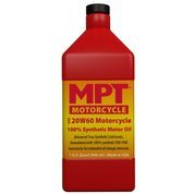 MPT Industries MPT376-20W/60 Hi-Performance Fully Synthetic Motorcycle Motor Oil - 1 Quart Bottle …