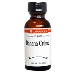 (Lorann Hard Candy Flavoring Banana Creme Oil Flavor 1 Ounce)