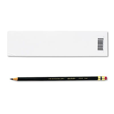 col-erase鉛筆W /消しゴム、グリーンリード、グリーン、Dozen , Sold as 1 Dozen 2-Pack B01APVAQWK  2-Pack