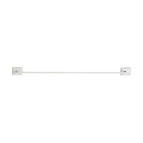 Decko Bath Products 48170 Towel Bar, 24-Inch, White ()