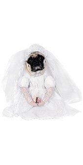 Rubie's Costume Co Bride Pet Costume, Large, (Bride Pet Costumes)