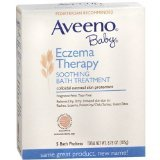 New Aveeno Baby Eczema Therapy Soothing Bath Treatment