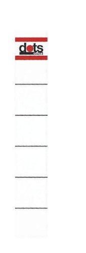 dots R/ückenschilder zum Einstecken f/ür 5,0 cm R/ückenbreite