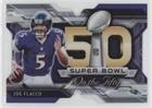 Joe Flacco (Football Card) 2015 Topps Chrome - Super Bowl 50 Die-Cuts #SBDC-JF