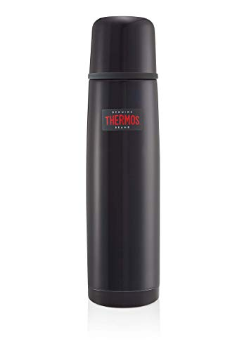 Thermos Light and Compact Flask, Midnight Blue, 1.0 L
