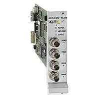 Axis Communic. AXIS 241Q Blade Video Server Video Server Fast Ethernet für 4 x Kameras 19
