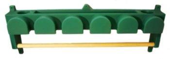 High Country BHBR-6P 6 Hook Bridle Rack/Blanket Holder, P...