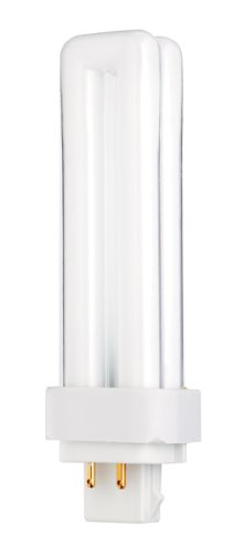 Satco S8332 4100K 13-Watt G24q-1 Base T4 Quad 4-Pin Tube for Electronic and Dimming Ballasts
