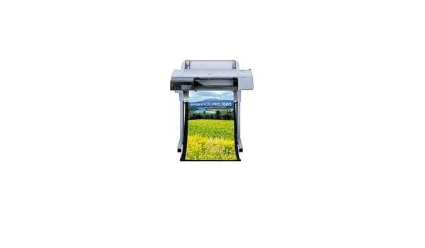 Epson Stylus Pro 7600 - Impresora de gran formato (2880 x 1440 DPI, Colour and monochrome heads, 672 nozzles (96 nozzles x 7), Up to 17.8m2/hr (Plain paper, economy mode, double-matte black