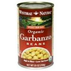 Westbrae Foods Garbanzo Beans (12x15 OZ)