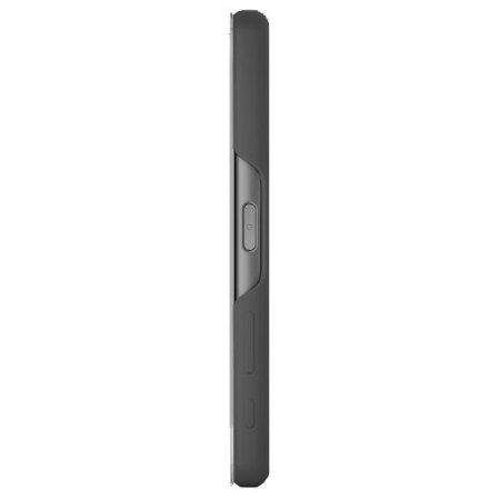 Sony SCR56 - Funda con tapa táctil para móvil Xperia X Performance, color amarillo negro
