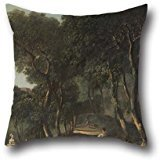 16 X 16 Inches / 40 By 40 Cm Oil Painting Nathaniel Dance-Holland - View Near Rome Throw Pillow Case ,two Sides Ornament And Gift To Floor,couch,adults,lover,bar Seat,gril