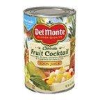 Del Monte Fruit Cocktail 100% Juice - 12 Pack by Del Monte