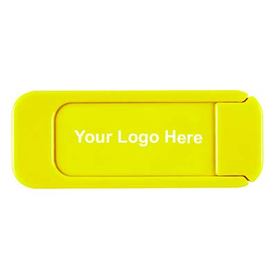 Webcam Cover - Yellow TK - 150 Quantity - $1.27 Each - Promotional Product/Bulk / with Your Customized Branding by Caden Concepts